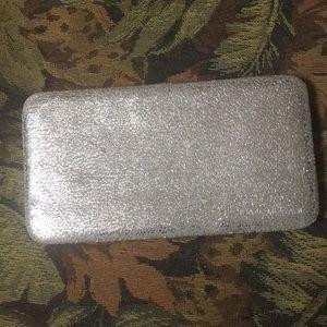 Handbags - Silver fold wallet